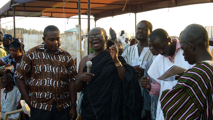 J. H. Kwabena Nketia remembering Kakraba Lobi